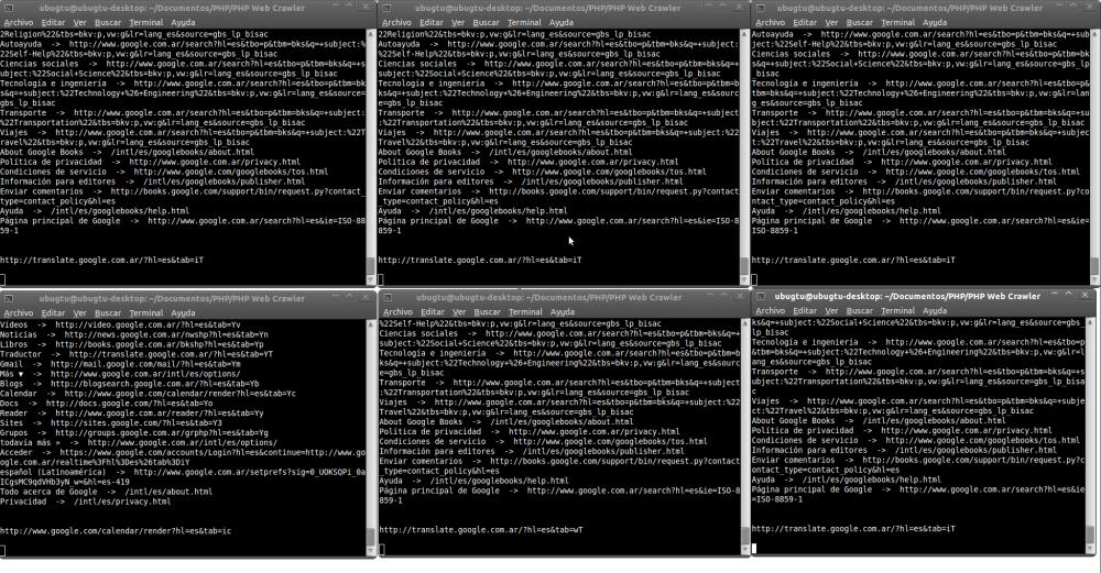 PHP Web Crawler (2/2)